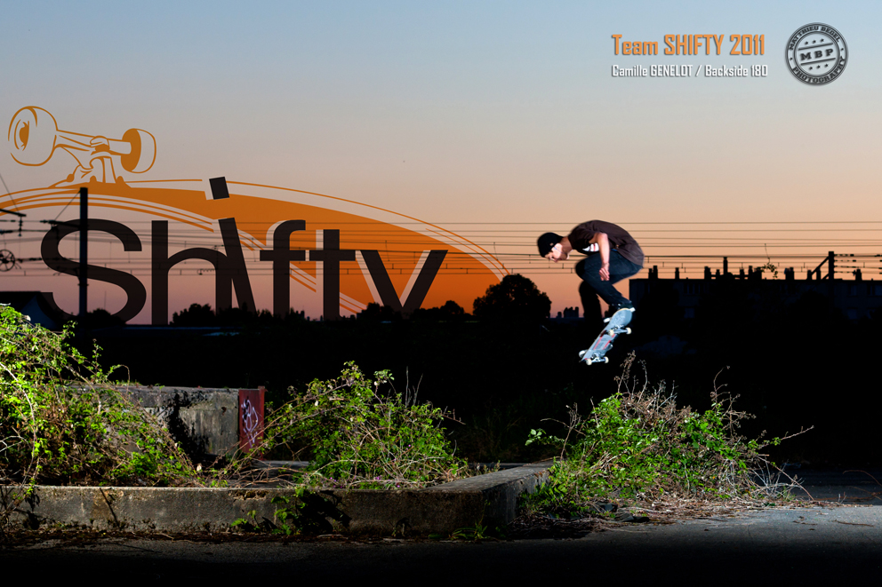 Shifty Advertising – Camille Genelot – Sunset 180 Back